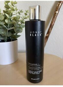 Monat BLACK 2-in-1 Shampoo+Conditioner *NEW/SEALED* w/ Rejuveniqe, Capixyl monet