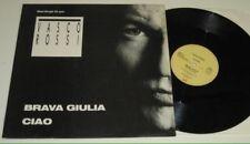 """VASCO ROSSI - BRAVA GIULIA / CIAO - VINILE 12"""" - MAXI SINGLE - 1987"""