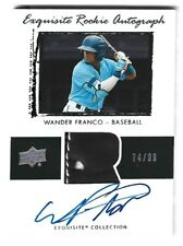 Wander Franco 2020 Upper Deck Goodwin Champions Exquisite Auto Patch #ed /99