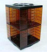 Tourniquet range cassettes rails racks pour 40 à 64 K7 vintage Tour de rangement