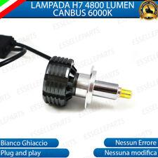 LAMPADA LED H7 6000K XENON CANBUS 360° SPECIFICO PER FARO LENTICOLARE NO ERROR