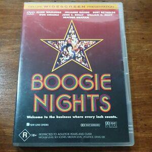 Boogie Nights DVD R4 Like New! FREE POST