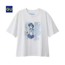 Sailor Moon 25th Anniversary MERCURY T-Shirt Woman XL GU Brand