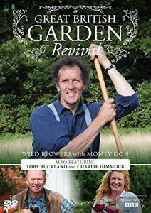 Great British Garden Revival: Wild Flowers With Monty Don [DVD][Region 2]