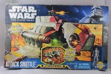 Hasbro Star Wars REPUBLIC ATTACK SHUTTLE Action Figure Vehicle Clone Wars Tank