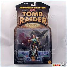 Tomb Raider Lara Croft 1997 action figure from Toybiz