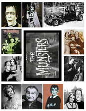 THE MUNSTERS SET 1 OF 2  PHOTO-FRIDGE MAGNETS