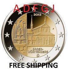 5 X 2 EURO 2013 GERMANY ADFGJ * MAULBRONN * - From Roll!