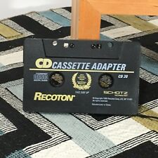 Recoton Cd 20 Car Audio Adaptor Cassette to Cd, Mp3 player, iPhone etc.