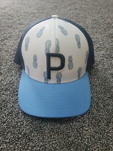 Puma Golf Snapback Hat Trucker Pineapples P Cap ricky fowler summer