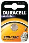 1x Duracell 389/390 1.5V Silver Oxide watch battery SR54 SR1130 D389 V389 V390