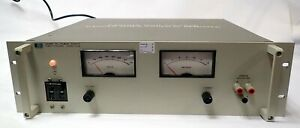 HP 6448B DC REGULATED POWER SUPPLY 0-600 Vdc @ 0-1.5 Amp OUTPUT. **REFURBISHED**