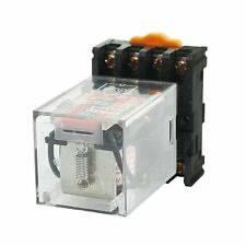 Electromagnetic Power Relay MK2P-I DPDT AC 110V Coil 8 Pin with Socket base