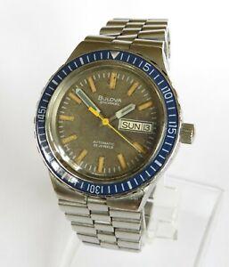 Gents 1972 Bulova Snorkel automatic divers watch