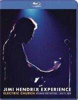 THE JIMI HENDRIX EXPERIENCE Electric Church BLU-RAY NEW Region ALL
