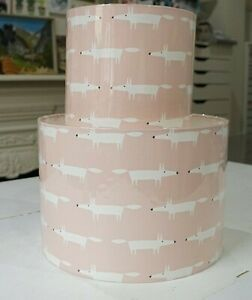 Handmade Lampshade - Scion Little Fox - Pink