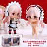 Super Sonico set of 2pcs housemaid  figures figure PVC doll Action Figure Model