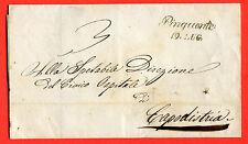 ITALY / CROATIA / ISTRIA- 1849 cover from PINGUENTE (252698)