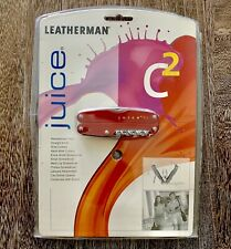 New, Sealed In Blister, Leatherman Juice C2 multitool. Collector's Item.