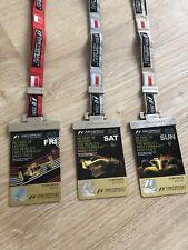 2008 Inaugural RARE Singapore 🇸🇬 Night Race Hospitality Passes F1 Tickets GP