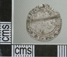 Great Britain England Elizabeth I Twopence Halfgroat Silver Hammered Coin 1594-6