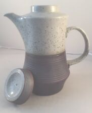 Collectable Pottery Purbeck Grey Speckled Coffee Pot H25.5cm crockware coffee