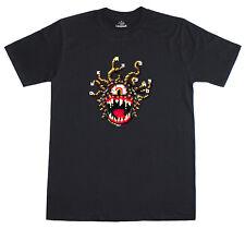 Pixel Art Beholder Dungeons and Dragons Simon Butler Design Regular Fit T Shirt