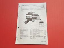 Blaupunkt TVC-333 E Video Color Camera org. Service Anleitung Manual