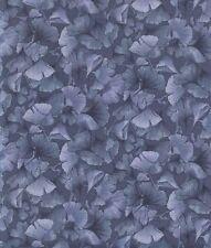 Petite Ginkgo Leaves - Gray Tonal Quilt Kona Bay Fabric - 1/2 Yard Increments