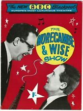More details for morecambe and wise genuine signed theatre programme. abc blackpool 1965