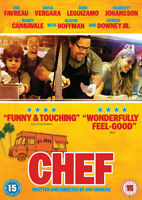 Chef DVD (2014) Jon Favreau cert 15 ***NEW*** FREE Shipping, Save £s