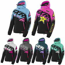 FXR Womens Boost FX Jacket Quick Dry Moisture Wicking Snowproof Snocross Coat