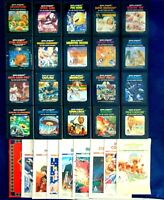Atari 2600 Game Cartridge Lot Of 29 Pac-Man Adventure Breakout Outlaw Berzerk +