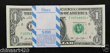 United States STAR NOTE $1 Dollar 2013 Atlanta UNC, A Bundle of 100 Pieces