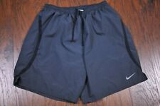 """Nike Dri-Fit 7"""" Challenger 2 in 1 Lined Run Shorts Gray Men's Large L"""