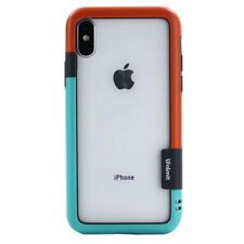 New Fashion Soft tpu rubber border bumper case cover for iphoneX iphone X + Film