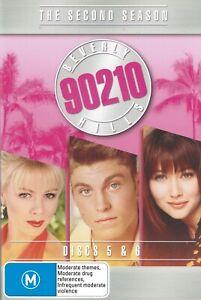 Beverly Hills 90210 - Season 2 - Disc 5 & 6 (DVD, 2 Discs, 2007, R4) Used GC