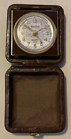 Vintage Bulova Travel Alarm Clock - Made In Germany - As Is - Not Working