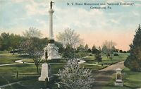 GETTYSBURG PA – New York State Monument and National Cemetery