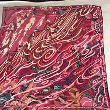 """Authentic Hermes Shawl Scarf Cashmere Silk CSGM 55""""  De la Mer Au Ciel"""