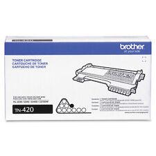 NEW Genuine BROTHER TN-420 Toner Cartridge Black NEW Sealed in Retail Box NIB
