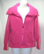 CALVIN KLEIN Performance Women's FLEECE ZIP Jacket, HOT PINK, Small, Full Zip