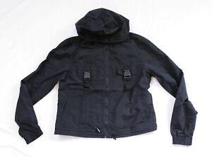 Zumies Women's Ninth Hall Emira Utility Windbreaker Jacket AM1 Black Small NWT