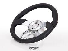 MÖWE Marine Boat Steering Wheel Havanna Leather Perforated For Nidelv Teleflex