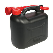 Silverline Contenitore Porta carburante 5 L Nero