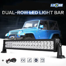 """22inch 280W PHILIPS LED Driving Light Bar Offroad Spot Flood Combo Truck 4WD 23"""""""