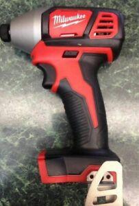 "Milwaukee 2656-20 M18 Volt Li-Ion 1/4"" Impact Driver Tool Only New Slim Line2016"