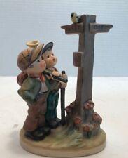 "Geobel M. I. Hummel ""Crossroads"" Figurine 331 Made in Western Germany 1955"