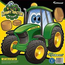John Deere Cartoon Tractor Teammate Fathead Peel & Stick Wall Decal