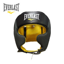 Everlast Open Face Headgear Head Guard Boxing Sparring Training Gym Fitness New